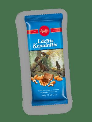 Lācītis Ķepainītis piena šokolāde, 100g