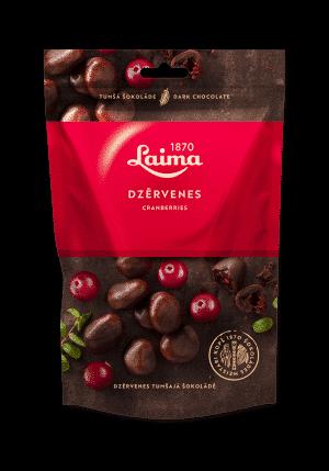 Dzērvenes tumšajā šokolādē, 140g