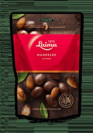 Mandeles tumšajā šokolādē, 140g