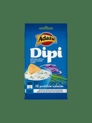 Ādažu Čipsi Dipi mērce Krējums & Sīpoli, 15g