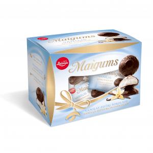 Maigums vaniļas zefīrs šokolādē, 185g