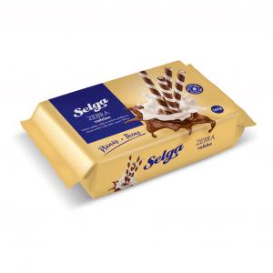 Kakao vafeļu rullīši ar krēma pildījumu, 160g