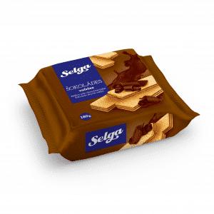 Vafeles ar šokolādes garšu, 180g