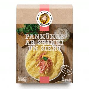 Pankūkas ar šķiņķi un sieru, 350g