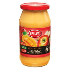 Ābolu biezenis ar mango un saldo krējumu, 500g