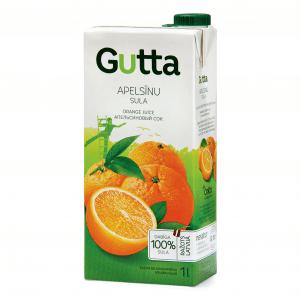 Apelsīnu sula, 1L