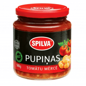 Pupiņas tomātu mērcē, 580g