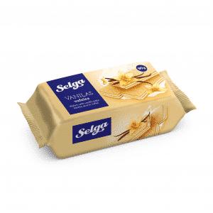 Vafeles ar vaniļas garšu, 90g