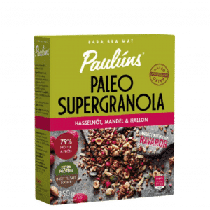 PAULUNS Supergranola ar lazdu riekstiem, mandelēm un avenēm, 350g