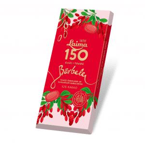 Laima150 Tumšā šokolāde Bārbele, 100g
