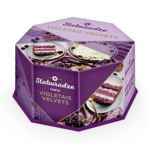 Torte Violetais Velvets, 900g