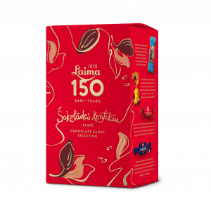 Laima150 Šokolādes konfekšu izlase, 320g