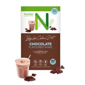 NUTRILESS kokteilis ar šokolādes garšu (5 paciņas)
